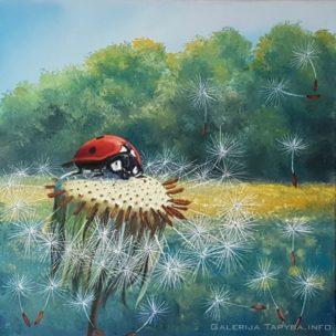Vasaros lobis (Summer Treasure). Aliejus/drobė (oil/canvas). Parduodama (For Sale)